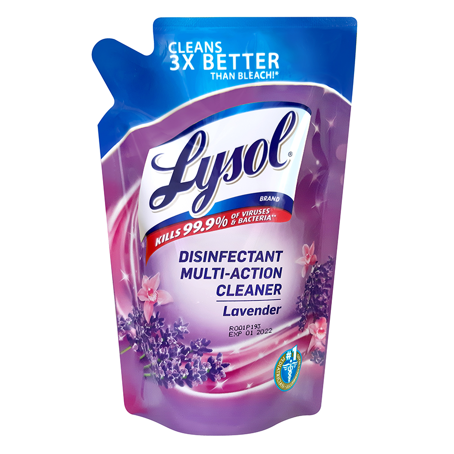 Lysol Multi Action Cleaners  Lavender 400ml