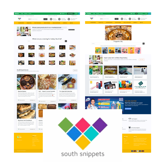 SouthEats Express Merchant Package