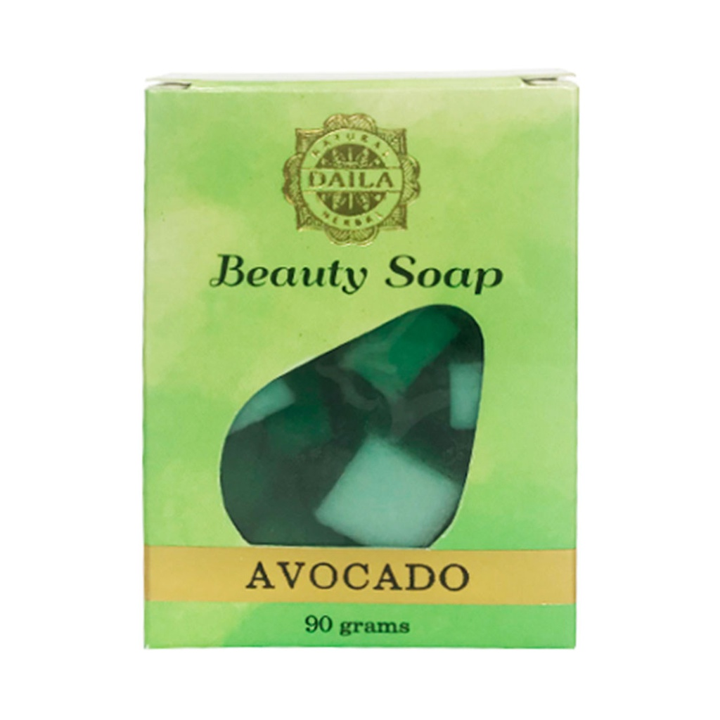 Avocado and Cucumber Beauty Soap 90g