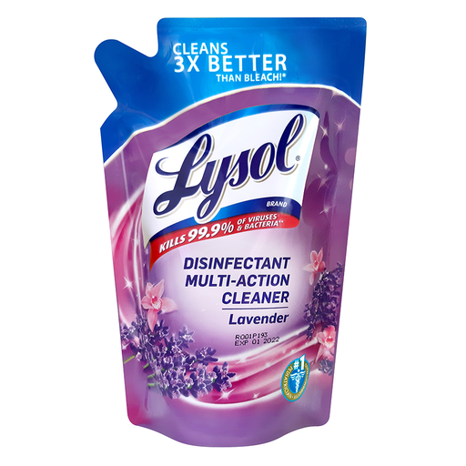 [Lysol Multi Action Cleaners  Lavender 400ml (Tripi)] Lysol Multi Action Cleaners  Lavender 400ml