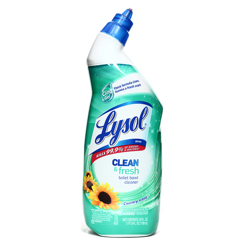 [Lysol Toilet Bowl Cleaners Country Scent 709ml (Tripi)] Lysol Toilet Bowl Cleaners Country Scent 709ml
