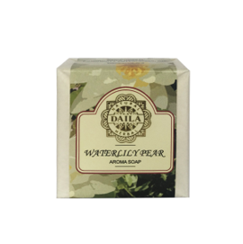 [Aroma Soap Waterlily Pear 100g(Tripi)] Aroma Soap Waterlily Pear 100g